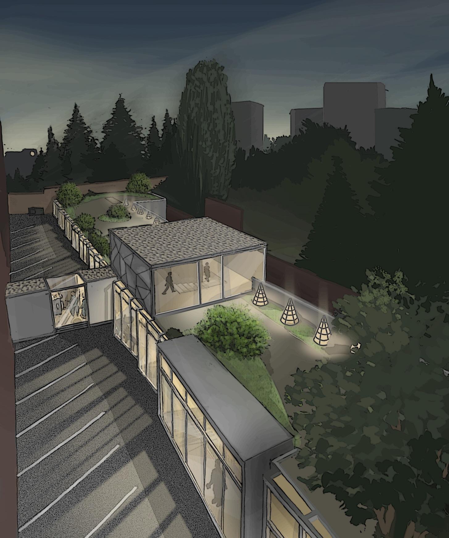 Broqueville atelier am architecte for Atelier 4 architecte